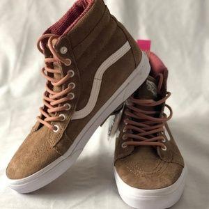 783d78905a Vans Shoes - NWOT VANS SK8-Hi MTE Toasted Coconut True White